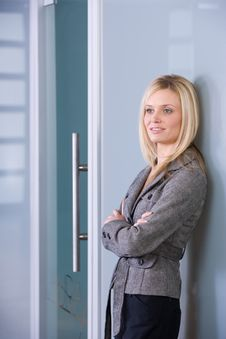 Free Business Woman Portrait Royalty Free Stock Photography - 8525737