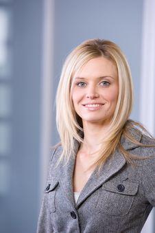 Free Business Woman Portrait Stock Images - 8525824