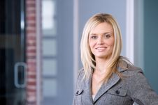 Free Business Woman Portrait Stock Image - 8525851