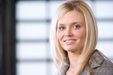 Free Business Woman Portrait Stock Photo - 8525940