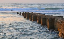 Free Jetty At Twilight Time Royalty Free Stock Image - 8526836
