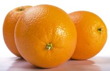 Close Up Of Fresh Oranges Stock Images