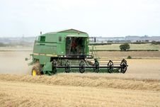 Free A Combine Harvester Royalty Free Stock Images - 8527519