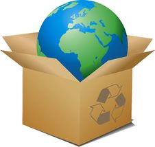 Free Ecologic Box Royalty Free Stock Photography - 8527597