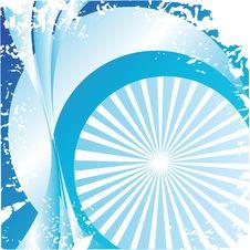 Blue Abstract Card Stock Photos