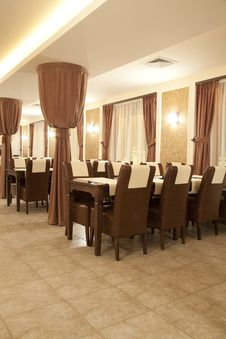 Free Restaurant Interior Royalty Free Stock Photos - 8528598