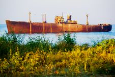 Free Ship Wreck Stock Photos - 8529553