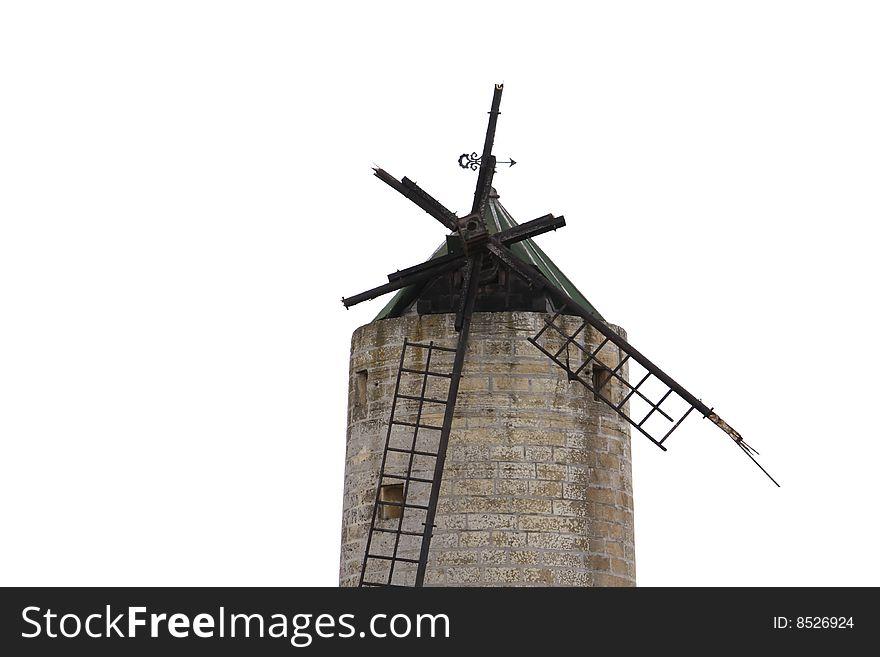 Broken windmill