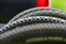Free Bicycle Spiky Tire Royalty Free Stock Image - 85215346