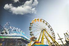 Free Ferris Wheel In Amusement Park Royalty Free Stock Photography - 85216787