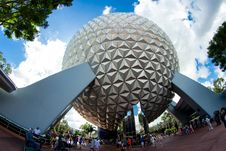 Free Spaceship Earth Royalty Free Stock Photos - 85259258