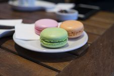 Free Close-up Of Macaroons Stock Photos - 85275003