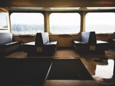 Free Empty Train Compartment  Royalty Free Stock Photos - 85276238