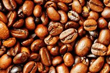 Free Brown Dry Roasted Coffee Beans Stock Photo - 85284550