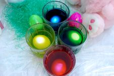 Free Egg Dipping Stock Photography - 8530252