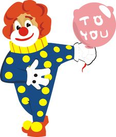 Happy Clown Stock Photos