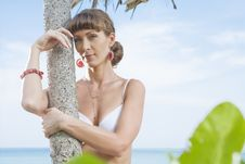 Free Tropic Woman Stock Photography - 8530812