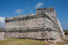Free El Castillo Temple At Tulum Stock Photo - 8531000