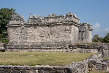 Free Tulum Ruins Royalty Free Stock Images - 8531039