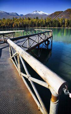 Free Pier On Lake Stock Photo - 8531060