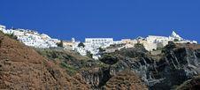 Free View Over Town Oia Island Santorini, Greece Stock Photos - 8531123