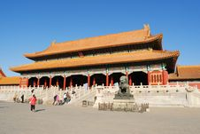 Free The Forbidden City Royalty Free Stock Photos - 8531618
