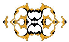 Free Traditional Antique Ottoman Turkish Tile Illustrat Royalty Free Stock Image - 8531876