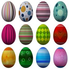 Free Easter Egg Collection Royalty Free Stock Photos - 8531888