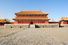 Free The Forbidden City Royalty Free Stock Images - 8532039