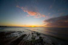 Free Sunset On Island Margarita Stock Images - 8532124