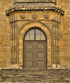 Free Gate Of Church. Royalty Free Stock Images - 8532149