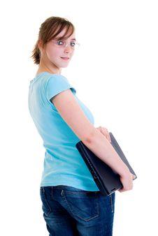 Free Teenager Schoolgirl Stock Images - 8532264