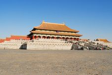 Free The Forbidden City Royalty Free Stock Photo - 8532285