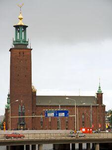 Free Stockholm City-hall Royalty Free Stock Photos - 8532518