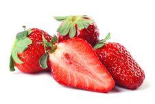 Free Fresh Strawberries Royalty Free Stock Photos - 8532588