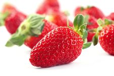 Free Fresh Strawberries Stock Images - 8532614