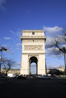 Free Arch Building In Paris Stock Photography - 8532712