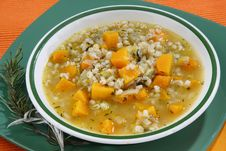 Free Vegetable Soup With Pumpkin Stock Photos - 8533413