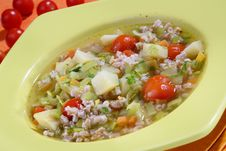Free Vegetable Soup Royalty Free Stock Photo - 8533425