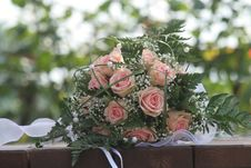 Free Wedding Bouquet Royalty Free Stock Images - 8533459