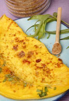 Free Pancake With Vegetable Stock Image - 8533521