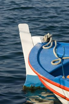 Free Fishing Boat Detail Stock Image - 8533621