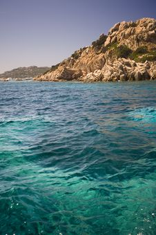 Archipelago Of La Maddalena, Sardinia Stock Photo