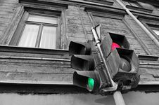 Free Traffic Light. Stock Photo - 8533770