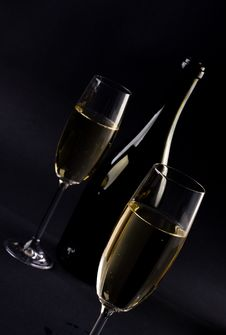 Free Champagne Glass Stock Photos - 8533963