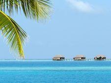 Free Foreshortening At The Maldives Royalty Free Stock Photos - 8534288