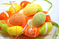Free Easter Eggs Stock Photography - 8534332
