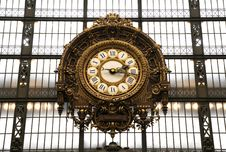Free Beautiful Clock In The Hall Royalty Free Stock Images - 8534499