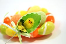 Free Easter Chick Royalty Free Stock Photo - 8534525