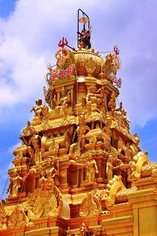 Free Brilliant Golden Temple Stock Image - 8534581